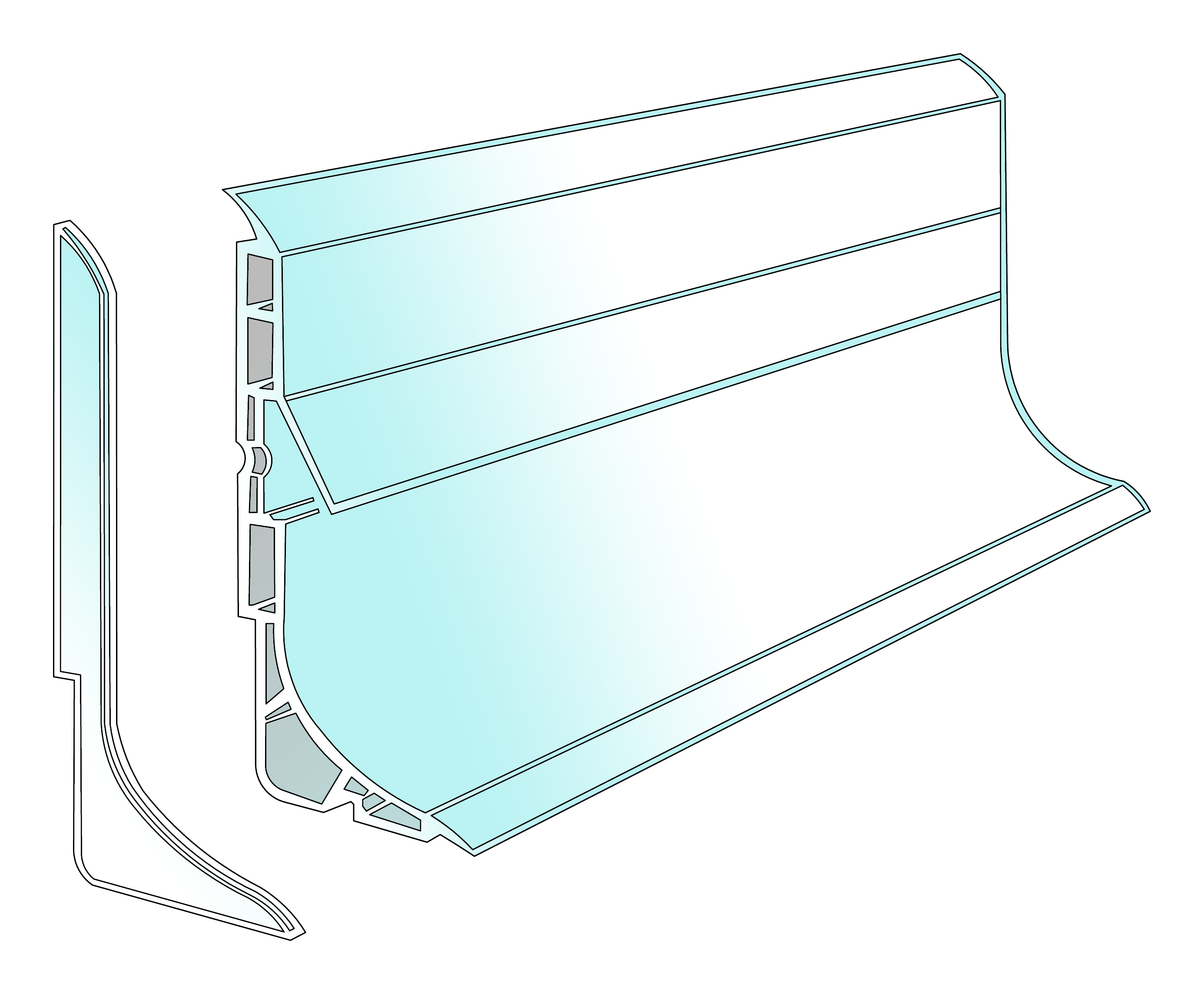 accessoires et portes pour panneaux frigo panneau frigo var 83 france. Black Bedroom Furniture Sets. Home Design Ideas